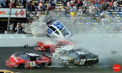 Prayers Go Out For The Injured Fans At The NW Daytona Race